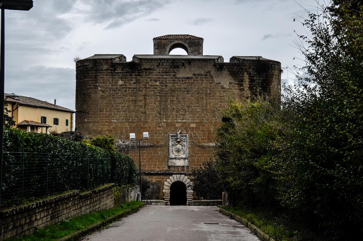 Sorano Italy Orsini Fortress