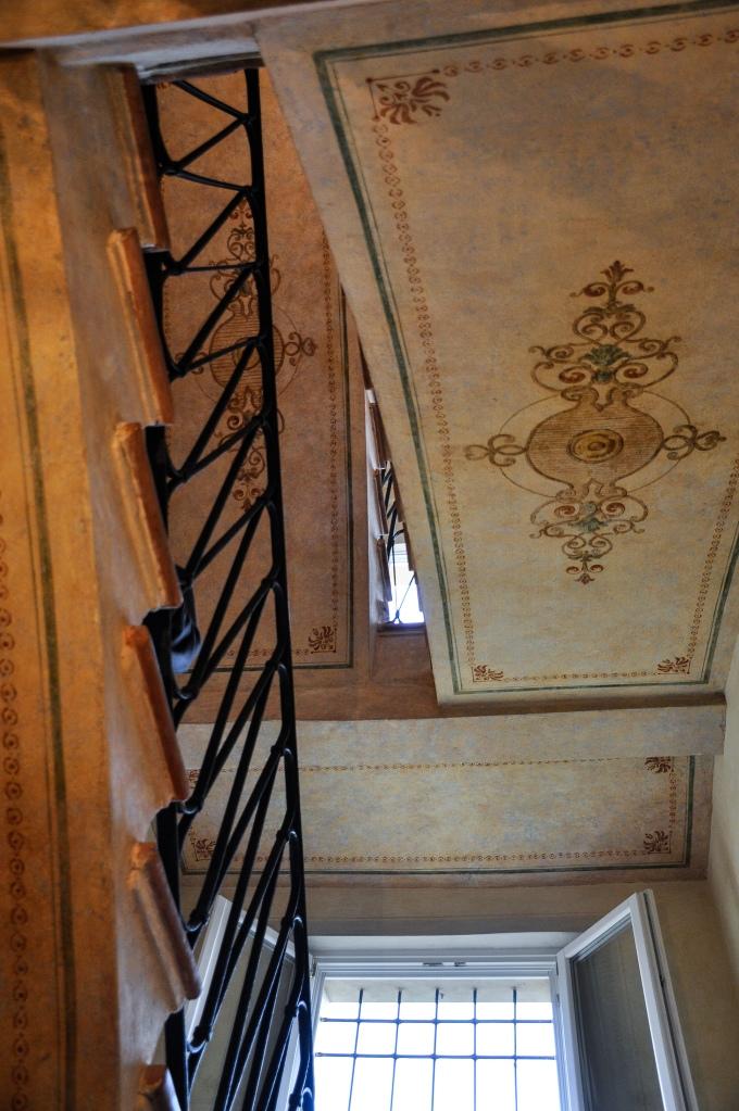 Frescoed Stairway