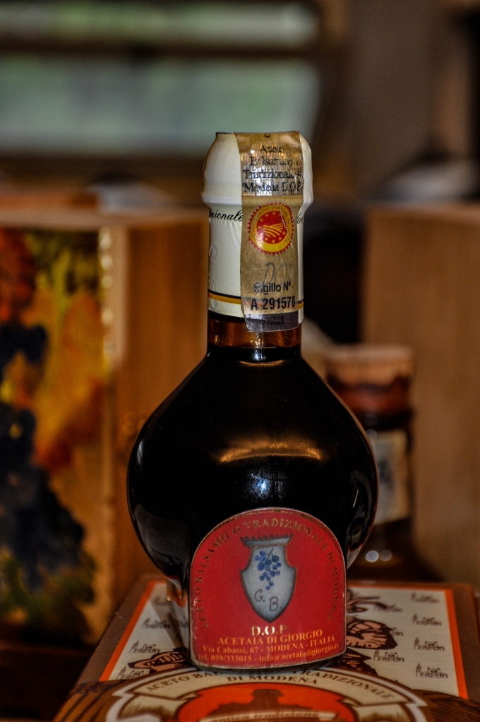 D.O.P. Balsamic Vinegar of Modena