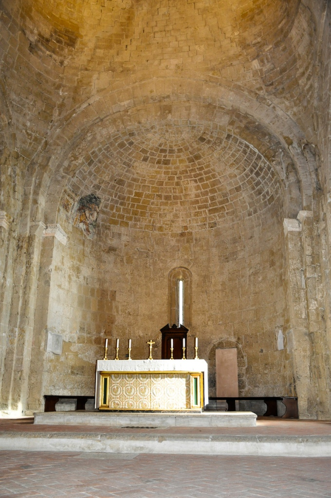 Altar of Italian church