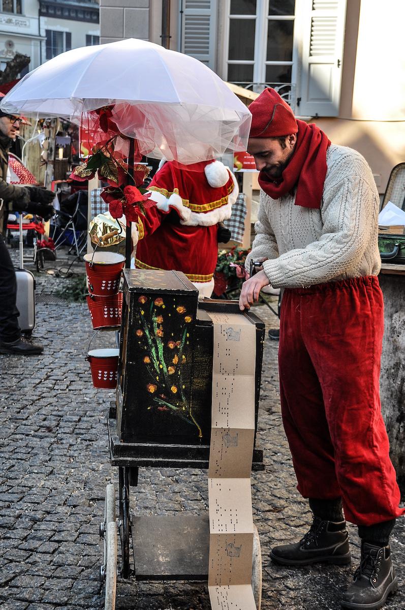 Santa Maria Maggiore Christmas Market Musician