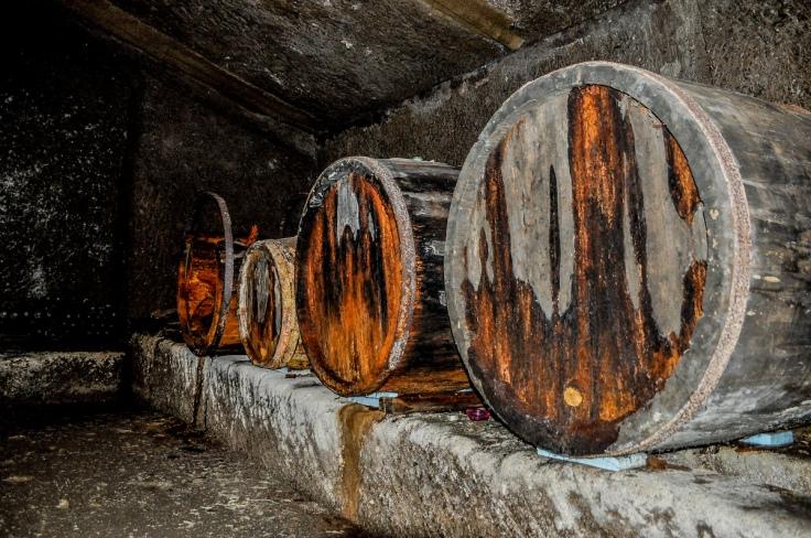 Italian Wine Barrels