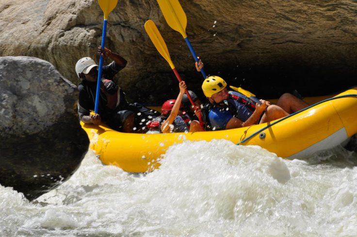 La Ceiba Honduras Cangrejal River White Water Rafting