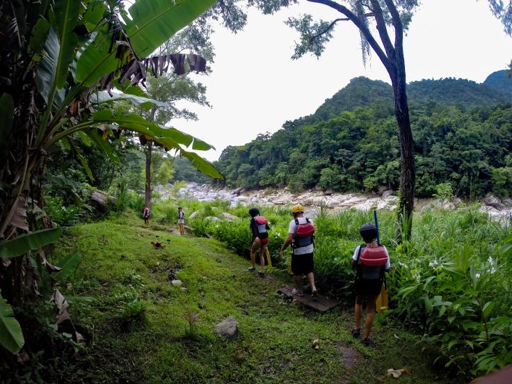 White Water Rafting Pico Bonito La Ceiba Honduras Cangrejal River