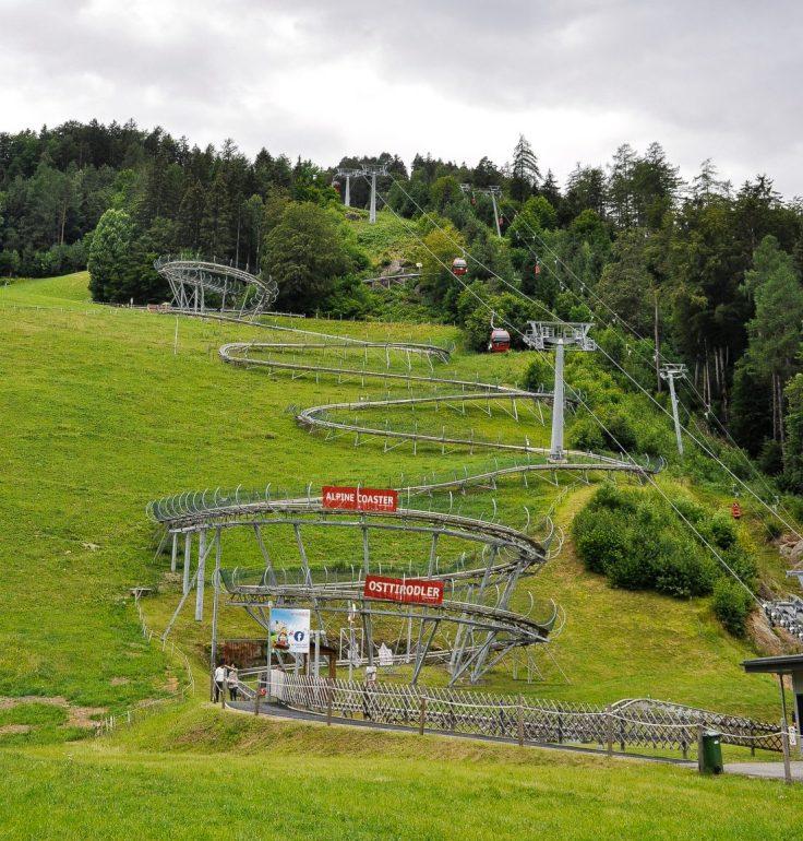Alpine Roller Coaster Osttirodler Lienz