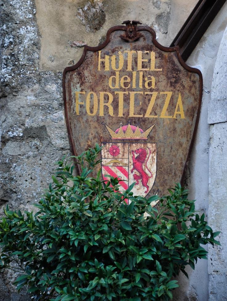 Sorano Italy Hotel della Fortezza