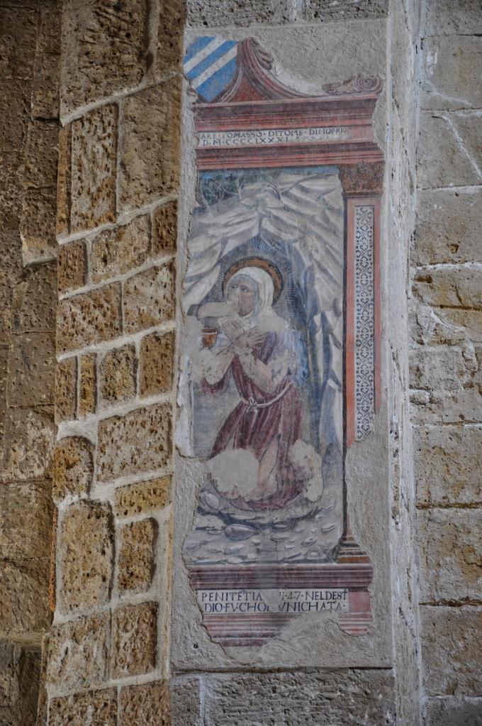 Frescoe in Italian Church